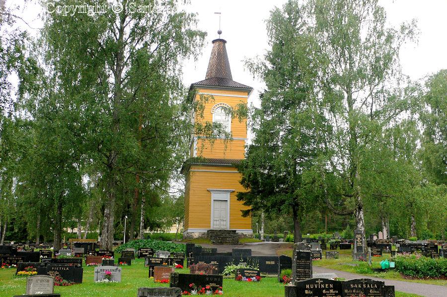 Heinola Rural Municipality-In Finland bell towers are mainly separated from churches / En Finlandia campanarios son generalmentemente separados de iglesias / Dans Finlande les clochers sont généralement séparés des églises