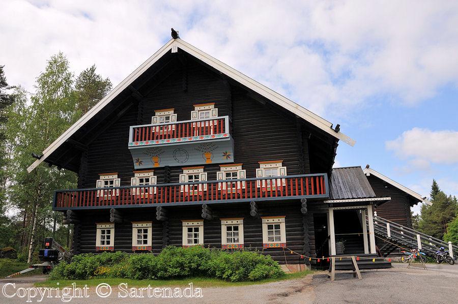 Bomba house (Karelian style) in Nurmes