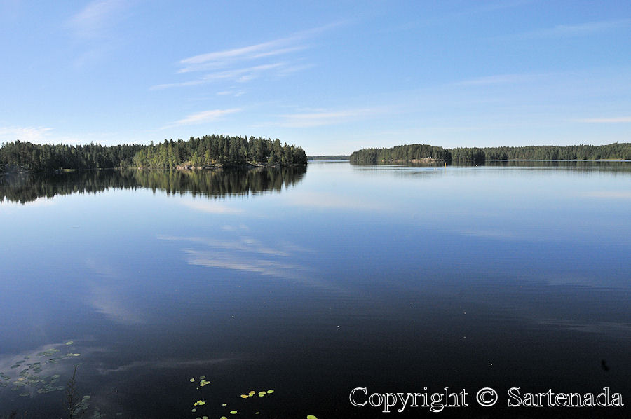 In Finland we have 187 888 lakes, here is one of them