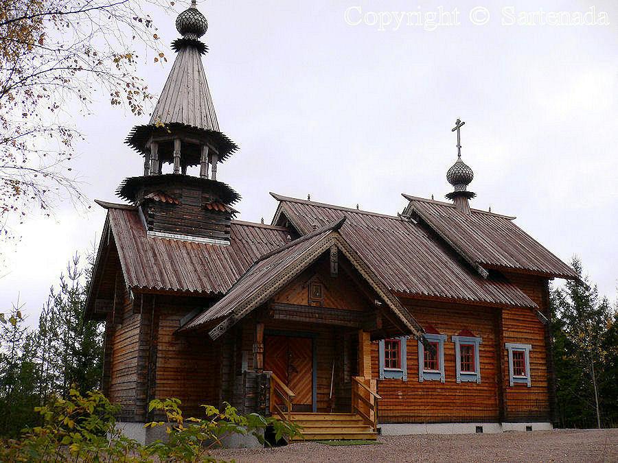 Tsasouna in Klaukkala