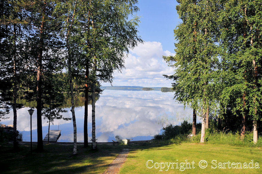 Lake Pielinen. Photo from our summer holiday in Finland.