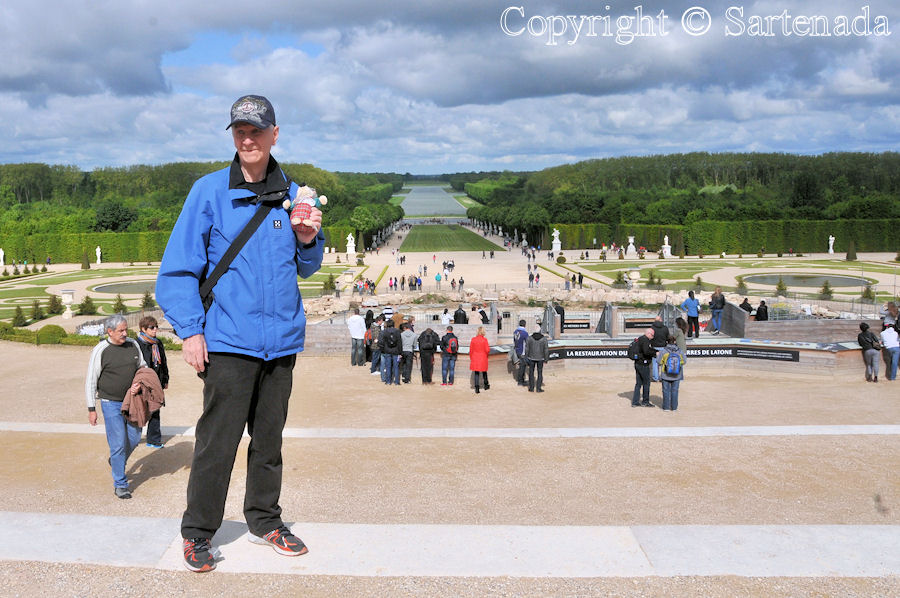 Celebrating 70-years birthday in Paris, Versailles 2014