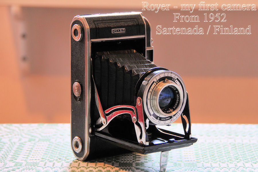 Royer my first camera from 1952