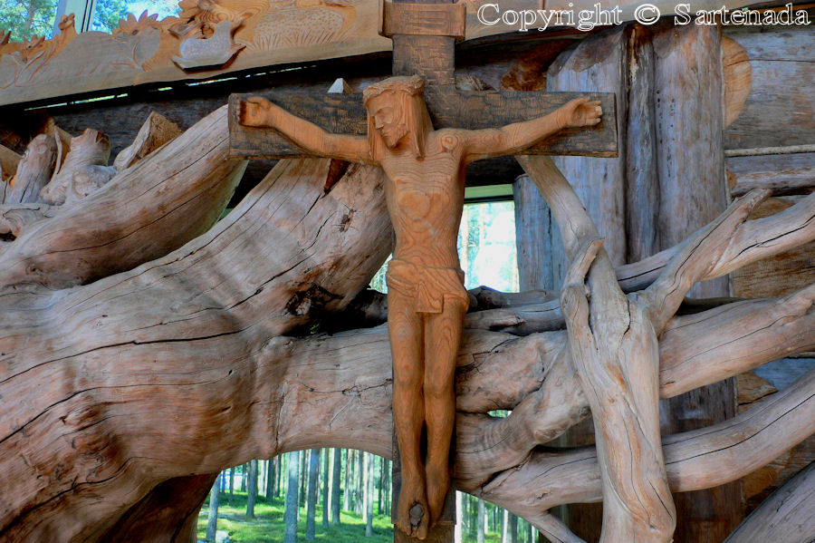 Private wooden church