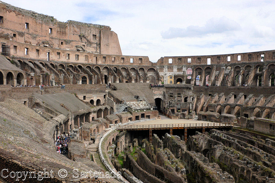Colosseum - where are gladiators?