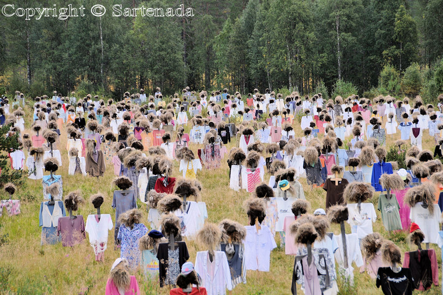 Silent people in Suomussalmi