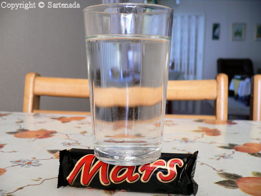 I knew it first: There is water on Mars!