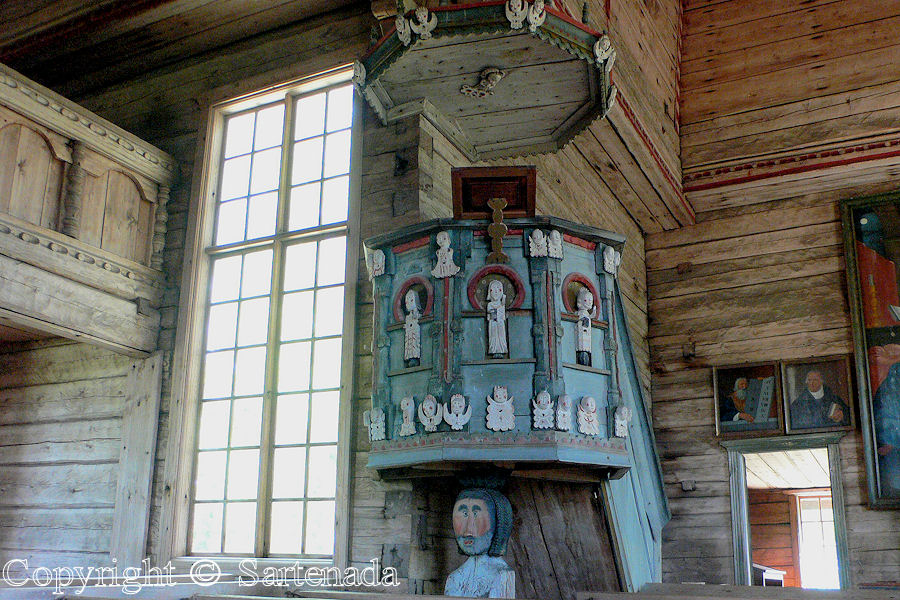 Old wooden church of Petajavesi