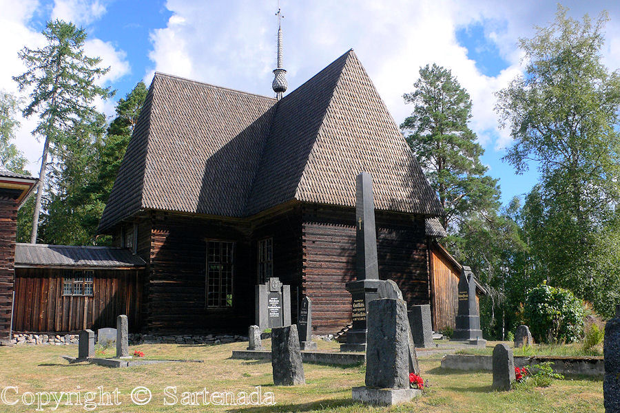 Old wooden church of Petäjävesi