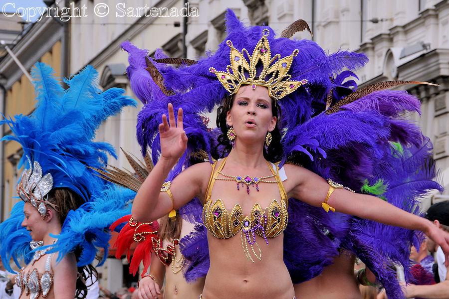 fotos de bailarinas de samba: