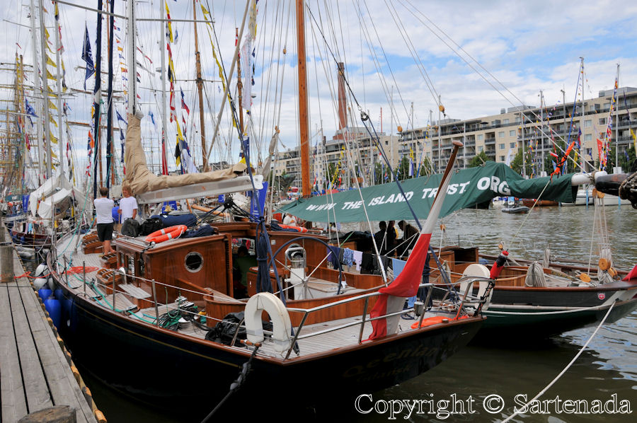 Tall ship race in Turku
