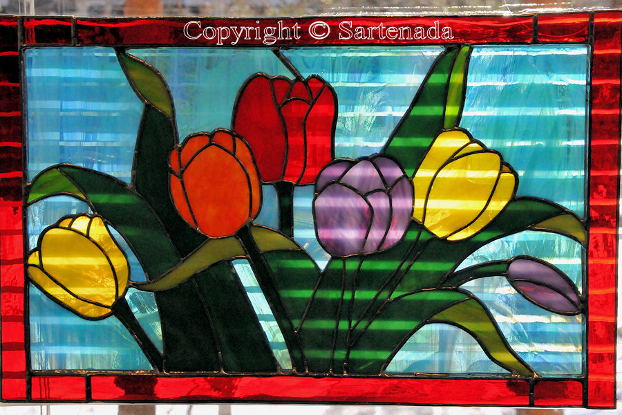 Glass paintings / Vitrales / Vitrails