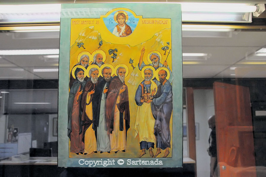 Orhodox icons / Iconos ortodoxo / Icônes orthodoxes