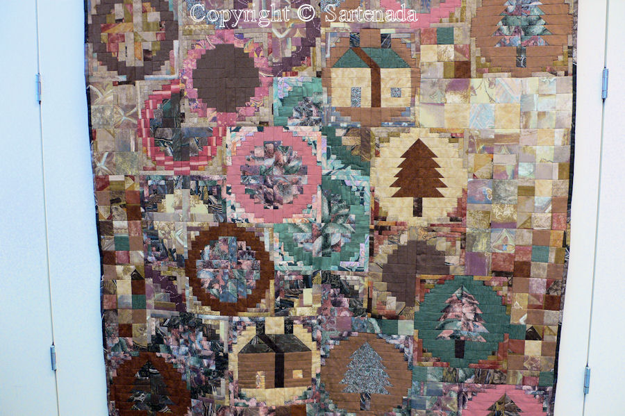 Quilting and patchwork / Almazuelas / Appliques / Applikation