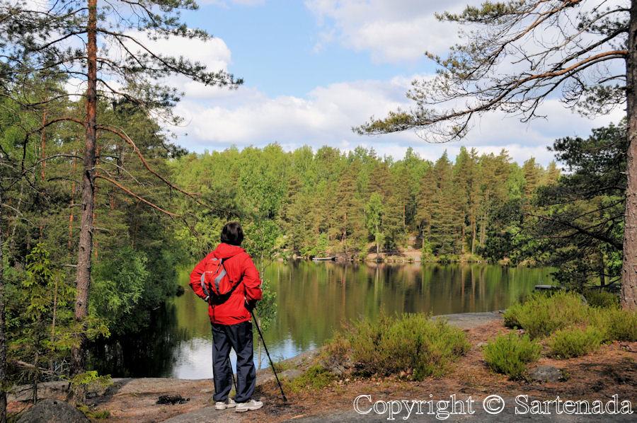 Lake Kaitalampi / Lago de Kaitalampi / Lac de Kaitalampi