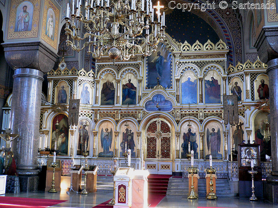 Uspensky Orthodox Cathedral / Catedral ortodoxa de Uspenski / Orthodoxe Cathédrale Uspensky