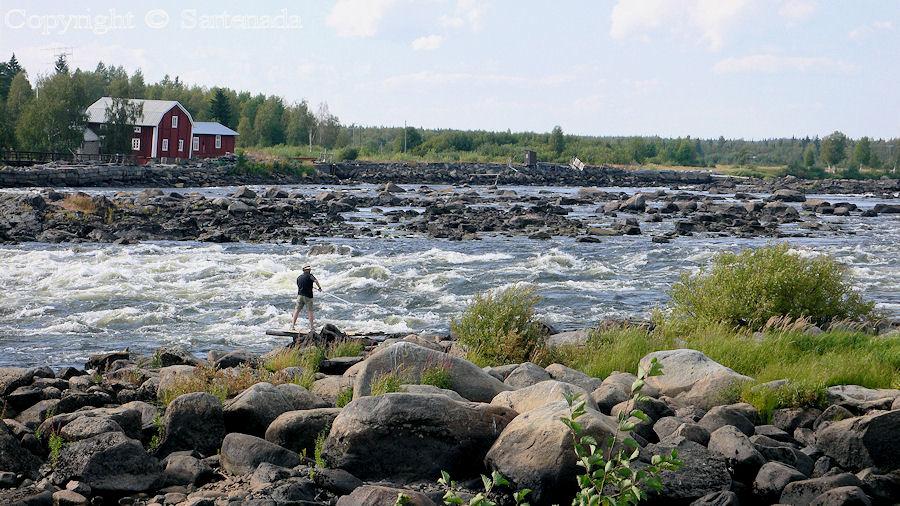 Rapids of Kukkolankoski / Rápidos de Kukkolankoski / Cascades de Kukkolankoski