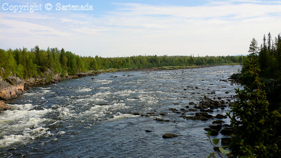 Torne river / Río Torne / Torne
