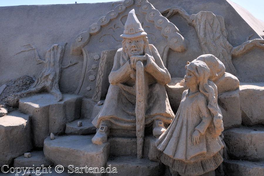 Sand Statues / Estatuas de arena / Statues de sable