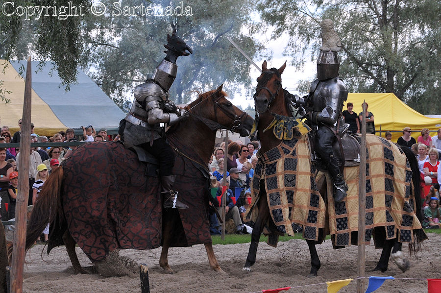 Medieval  knight tournament / Torneo Medieval / Médiéval tournoi chevaleresque
