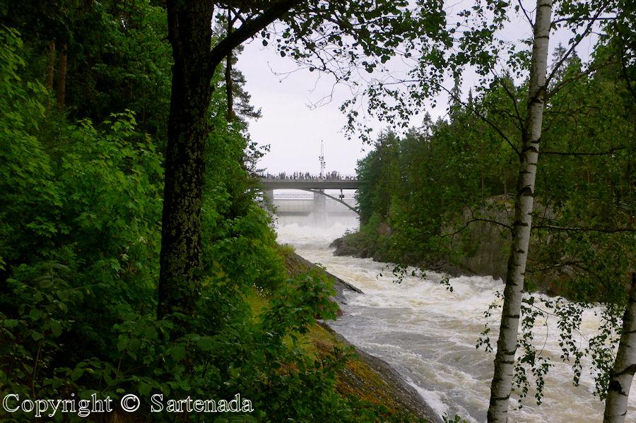 Rapids of Imatra / Rapidos de Imatra / Cascadas d'Imatra