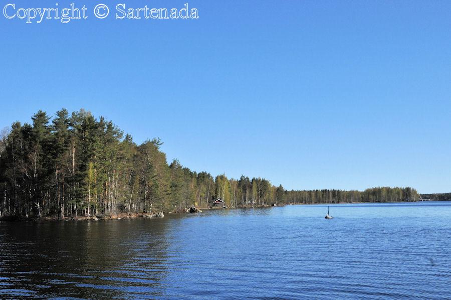 Lakes in Finland / Lagos en Finlandia/ Lacs en Finlande / Lagos na Finlândia