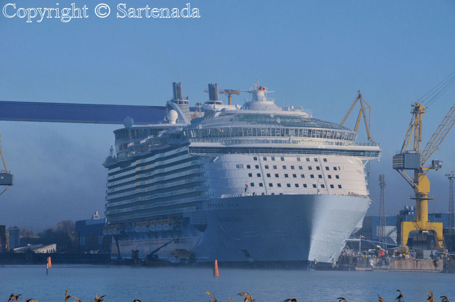 Made in Finland: World biggest cruise ship Allure of the Seas