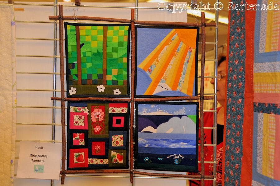 Exhibition of Finn Quilt 20 years / Exposición de Almazuela Finlandesa 20 años / Exposition de Courtpoint Finnoise 20 années