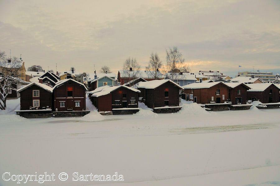 Charming wintry Porvoo / Encantador Porvoo en invierno / Charmant Porvoo en hiver