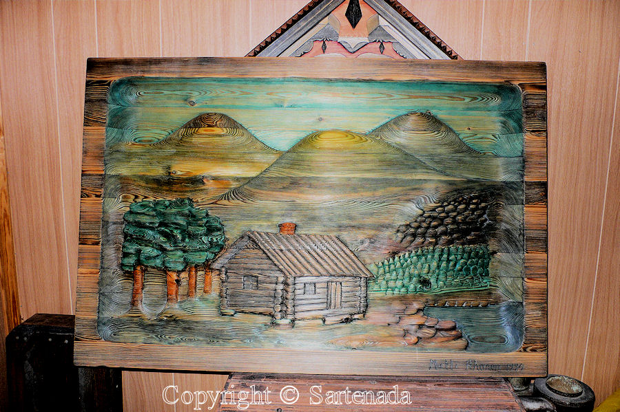 Village artist / Artista del pueblo / Artiste villageois