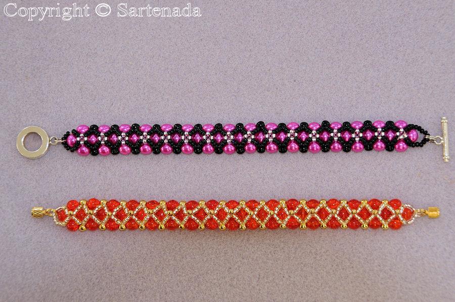 b809f4136608 How to make a beaded bracelet    ¿Cómo hacer una pulsera de abalorio ...