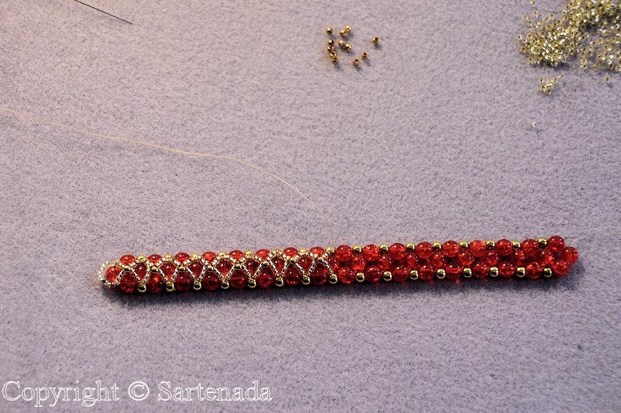 How To Make A Beaded Bracelet Como Hacer Una Pulsera De Abalorio