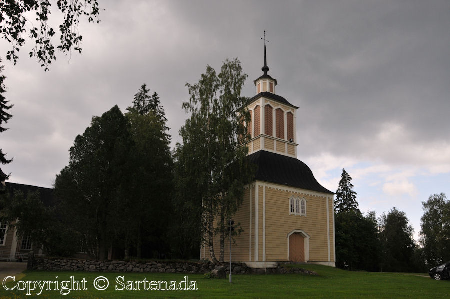 Iisalmi church of Kustaa Aadolf