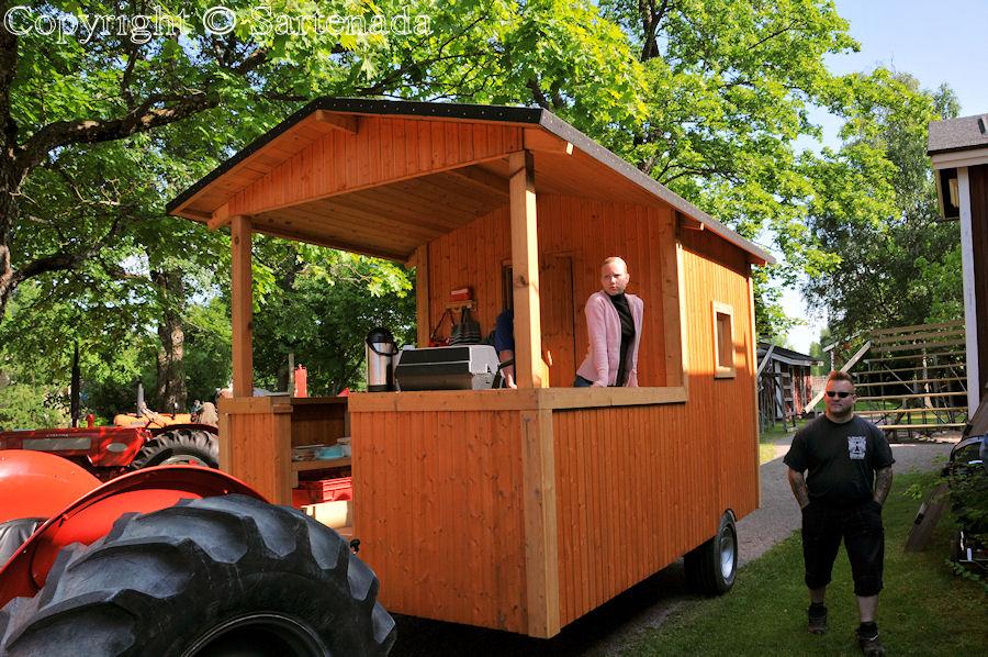Mobile Sauna at Hyvinkää