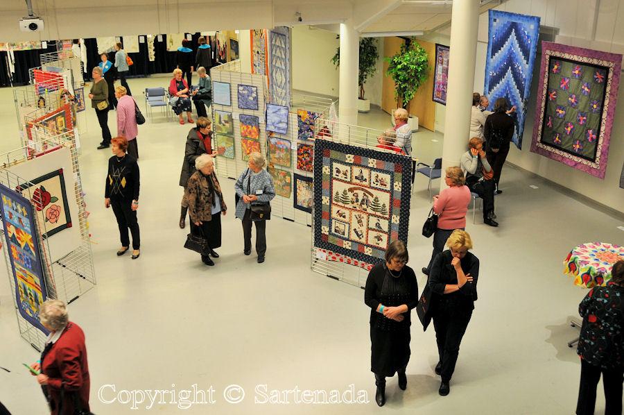 Exhibition of Finn Quilt 20 years 3 / Exposición de Guilda de Finn 20 años 3 / Exposition de Quilde de Finn 20 années 3