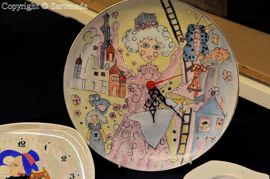 Porcelain paintings / Pinturas de porcelana / Peintures de porcelaine