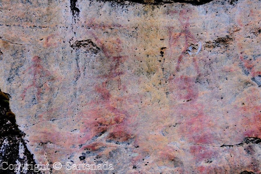 Rock paintings / Pinturas rupestres / Peintures rupestres