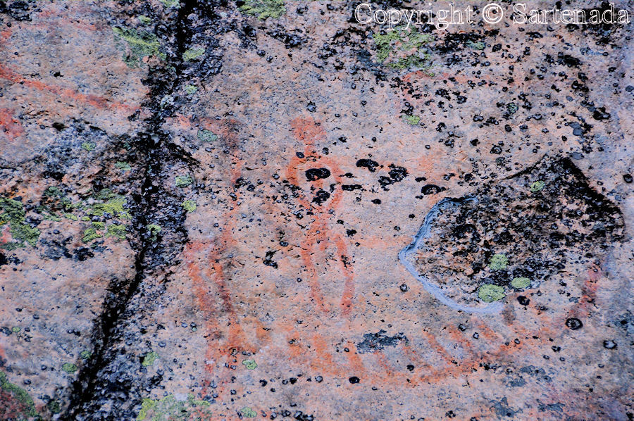 Rock paintings / Pinturas rupestres / Peintures rupestres