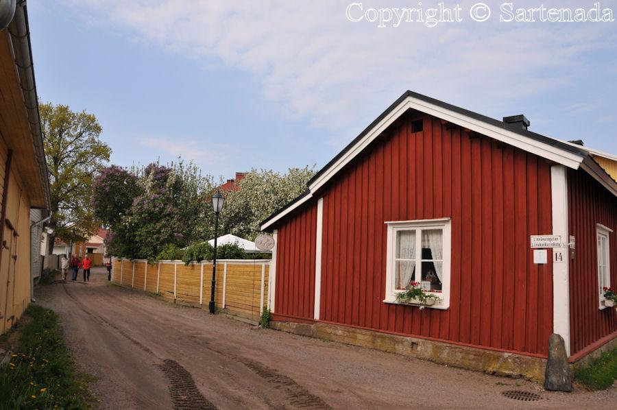 Old town of Tammisaari / Vieja ciudad de Tammisaari / Vieille ville de Tammisaari