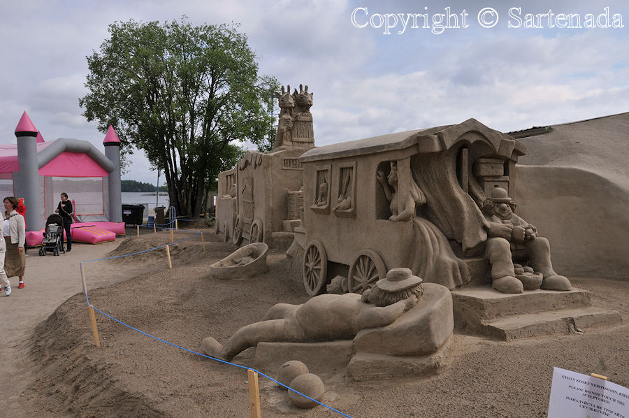 Sand Statues 2011 / Estatuas de arena 2011 / Statues de sable 2011