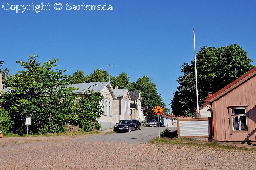 Old town of Loviisa / Ciudad vieja de Loviisa / Vieille ville de Loviisa