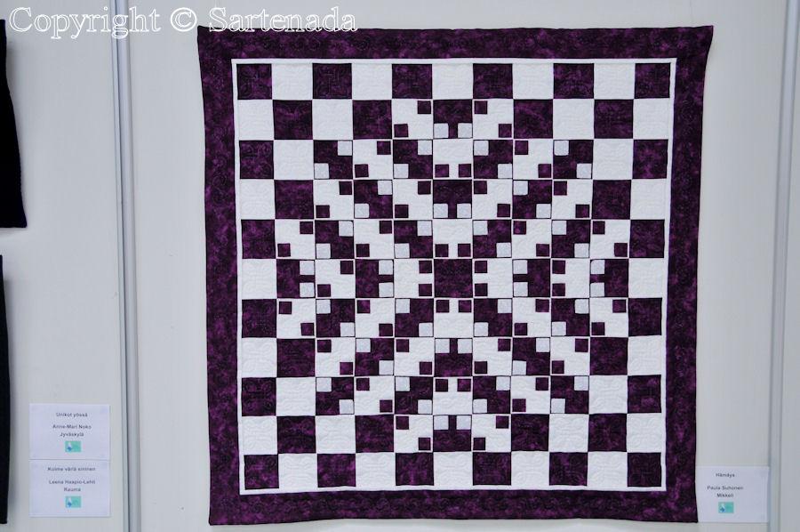 Patchwork and quilt exhibition / Exposición de Colchas y almazuelas / Exposition de courtepointes