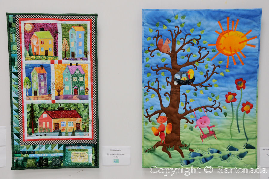 Patchwork and quilt exhibition / Exposición de Colchas y almazuelas / Exposition de courtepointes