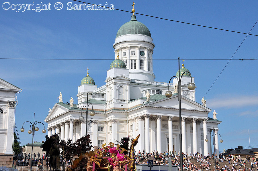 Helsinki Cathedral / Catedral de Helsinki / Cathédrale luthérienne d'Helsinki