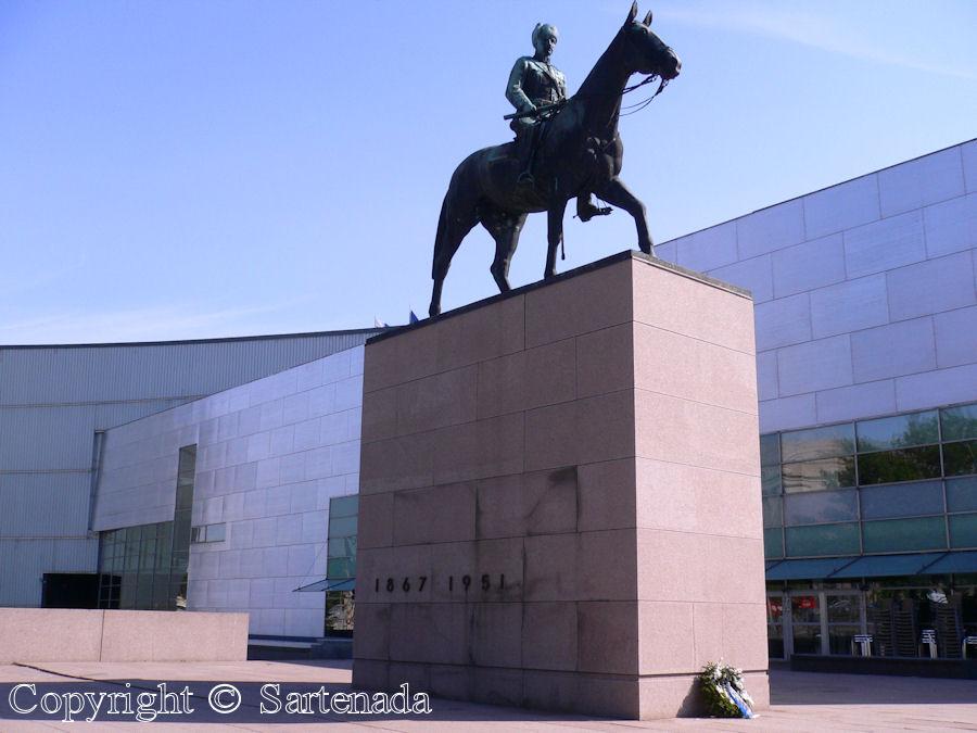Equestrian statue of Baron, Carl Gustaf Emil Mannerheim Marshal of Finland