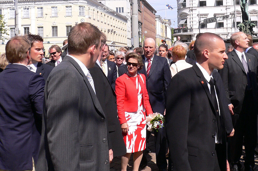 Queen Sonja and King of Norway Harald V