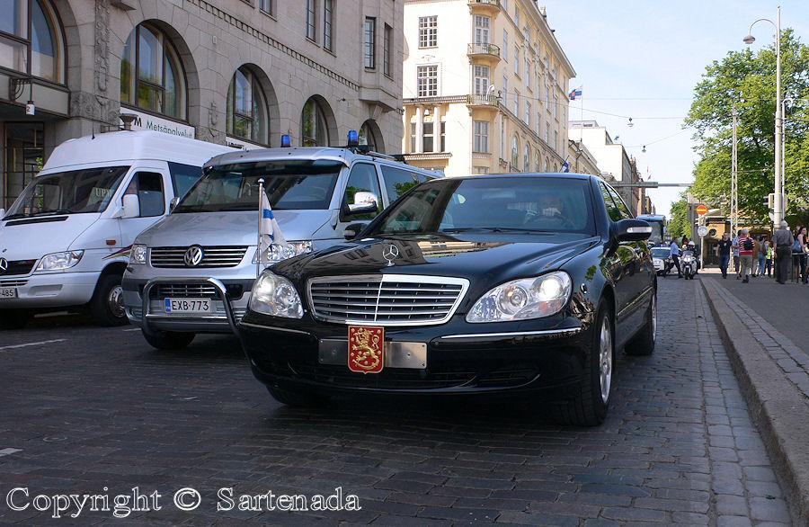 President's car
