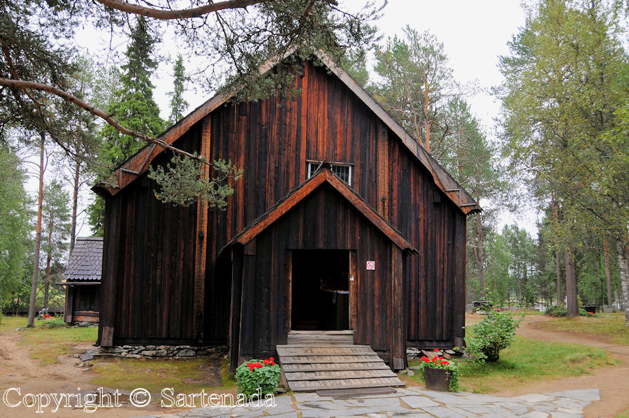 Sodankylä - old church