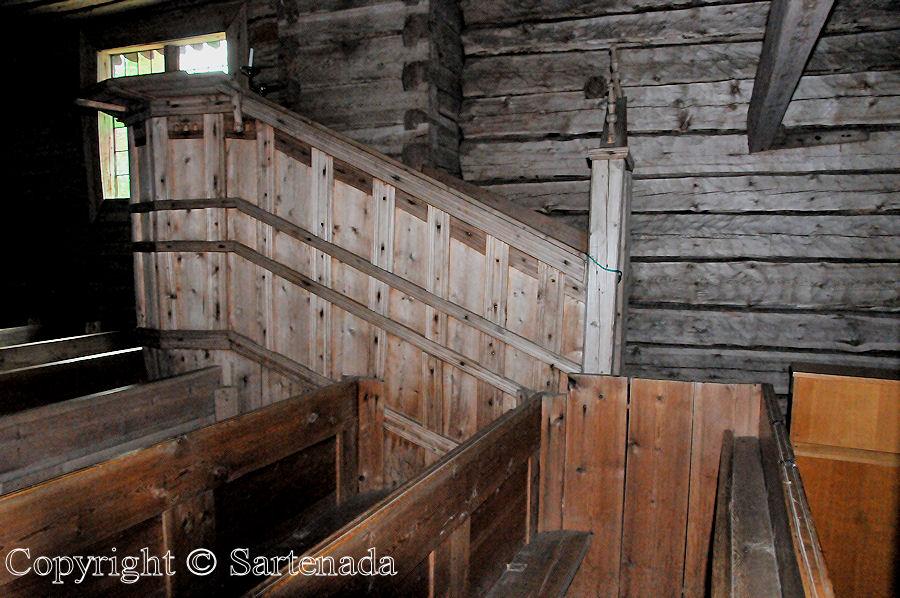 Sodankylä - old church