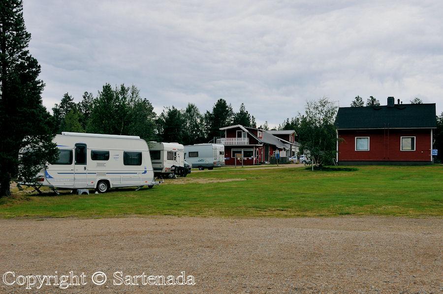Uruniemi Camping in Inari